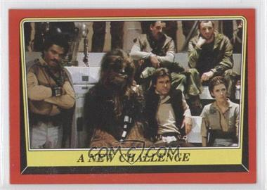 1983 Topps Star Wars: Return of the Jedi [???] #61 - A New Challenge