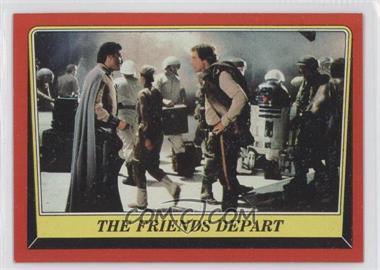 1983 Topps Star Wars: Return of the Jedi [???] #65 - The Friends Depart