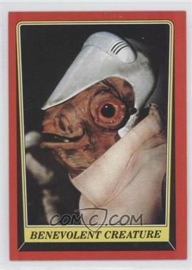 1983 Topps Star Wars: Return of the Jedi [???] #66 - Benevolent Creature