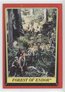 1983 Topps Star Wars: Return of the Jedi [???] #68 - Forest of Endor