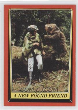 1983 Topps Star Wars: Return of the Jedi [???] #72 - A New Found Friend