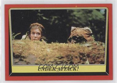 1983 Topps Star Wars: Return of the Jedi [???] #74 - Under Attack!