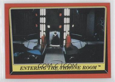 1983 Topps Star Wars: Return of the Jedi [???] #76 - Entering the Throne Room