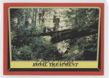 1983 Topps Star Wars: Return of the Jedi [???] #81 - Royal Treatment