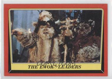 1983 Topps Star Wars: Return of the Jedi [???] #84 - The Ewok Leaders