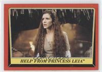 Help from Princess Leia