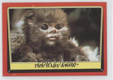 1983 Topps Star Wars: Return of the Jedi [???] #88 - The Baby Ewok
