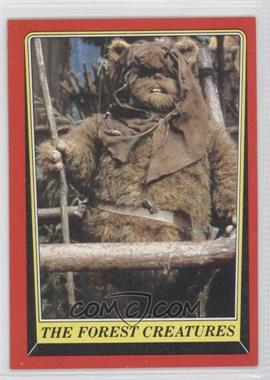 1983 Topps Star Wars: Return of the Jedi [???] #89 - The Forest Creatures