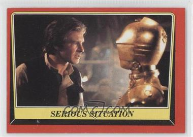 1983 Topps Star Wars: Return of the Jedi [???] #93 - Serious Situation