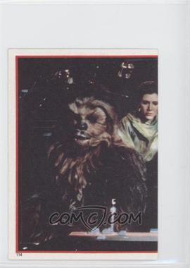 1983 Topps Star Wars: Return of the Jedi Album Stickers - [Base] #114 - Rebel Heroes