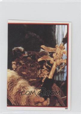 1983 Topps Star Wars: Return of the Jedi Album Stickers - [Base] #126 - Chief Chirpa