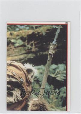 1983 Topps Star Wars: Return of the Jedi Album Stickers - [Base] #128 - Wicket W. Warrick