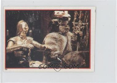 1983 Topps Star Wars: Return of the Jedi Album Stickers - [Base] #131 - C-3PO