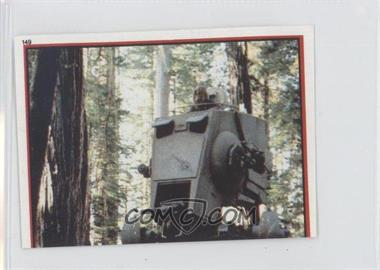 1983 Topps Star Wars: Return of the Jedi Album Stickers - [Base] #149 - AT-ST