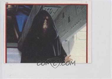 1983 Topps Star Wars: Return of the Jedi Album Stickers - [Base] #156 - Emperor Palpatine
