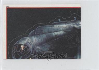 1983 Topps Star Wars: Return of the Jedi Album Stickers - [Base] #170 - Millennium Falcon