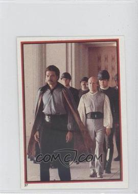 1983 Topps Star Wars: Return of the Jedi Album Stickers - [Base] #37 - Lando Calrissian
