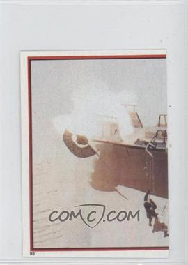 1983 Topps Star Wars: Return of the Jedi Album Stickers - [Base] #93 - Skiff