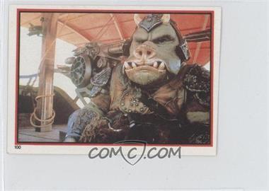 1983 Topps Star Wars: Return of the Jedi Album Stickers #100 - Gamorrean Guard