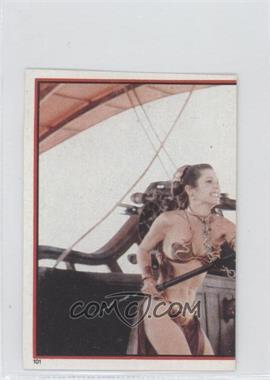 1983 Topps Star Wars: Return of the Jedi Album Stickers #101 - Leia Organa