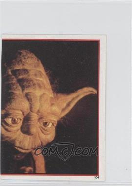 1983 Topps Star Wars: Return of the Jedi Album Stickers #104 - Yoda