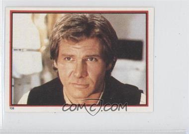 1983 Topps Star Wars: Return of the Jedi Album Stickers #108 - Han Solo