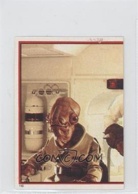 1983 Topps Star Wars: Return of the Jedi Album Stickers #110 - Admiral Ackbar