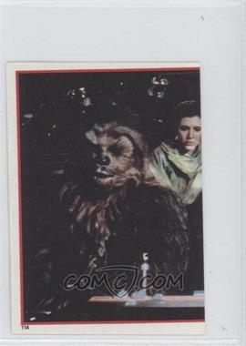 1983 Topps Star Wars: Return of the Jedi Album Stickers #114 - [Missing]
