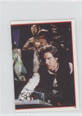 1983 Topps Star Wars: Return of the Jedi Album Stickers #115 - [Missing]