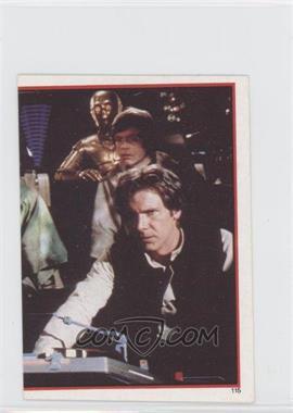 1983 Topps Star Wars: Return of the Jedi Album Stickers #115 - Rebel Heroes