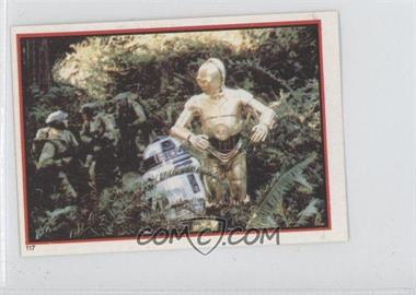 1983 Topps Star Wars: Return of the Jedi Album Stickers #117 - R2-D2, C-3PO