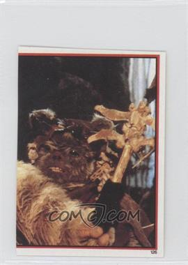 1983 Topps Star Wars: Return of the Jedi Album Stickers #126 - Chief Chirpa