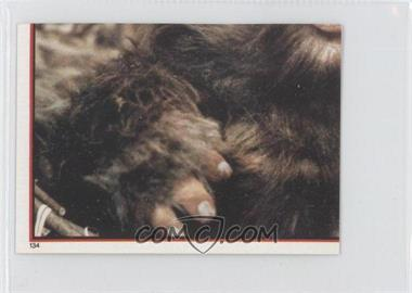 1983 Topps Star Wars: Return of the Jedi Album Stickers #134 - [Missing]