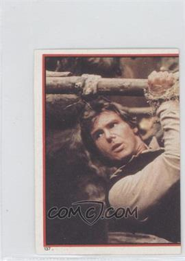 1983 Topps Star Wars: Return of the Jedi Album Stickers #137 - Han Solo