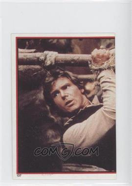 1983 Topps Star Wars: Return of the Jedi Album Stickers #137 - Han Solo