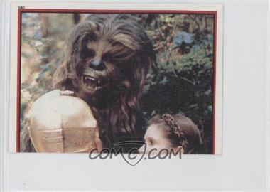 1983 Topps Star Wars: Return of the Jedi Album Stickers #140 - Chewbacca, C-3PO, Leia Organa