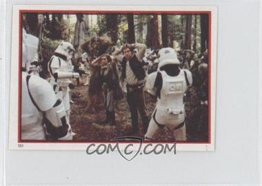 1983 Topps Star Wars: Return of the Jedi Album Stickers #151 - Heroes Captured