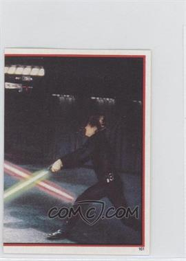 1983 Topps Star Wars: Return of the Jedi Album Stickers #161 - Darth Vader, Luke Skywalker