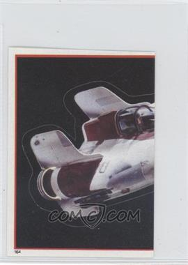 1983 Topps Star Wars: Return of the Jedi Album Stickers #164 - A-Wing Fighter