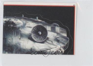 1983 Topps Star Wars: Return of the Jedi Album Stickers #171 - Millennium Falcon