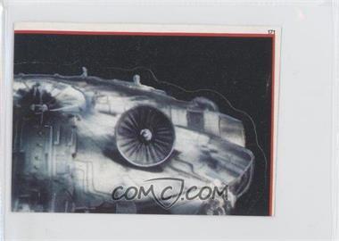 1983 Topps Star Wars: Return of the Jedi Album Stickers #171 - [Missing]
