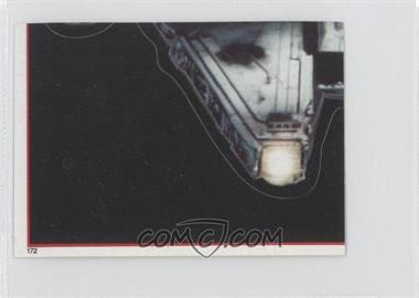 1983 Topps Star Wars: Return of the Jedi Album Stickers #172 - Millennium Falcon