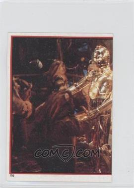 1983 Topps Star Wars: Return of the Jedi Album Stickers #176 - [Missing]