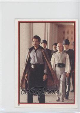 1983 Topps Star Wars: Return of the Jedi Album Stickers #37 - Lando Calrissian