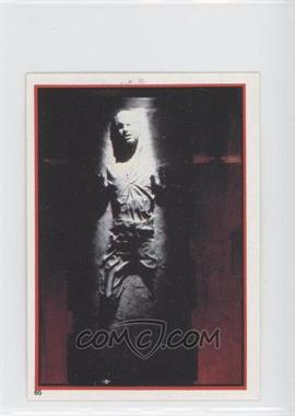 1983 Topps Star Wars: Return of the Jedi Album Stickers #65 - Han Solo in Carbonite
