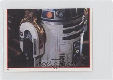 1983 Topps Star Wars: Return of the Jedi Album Stickers #75 - R2-D2