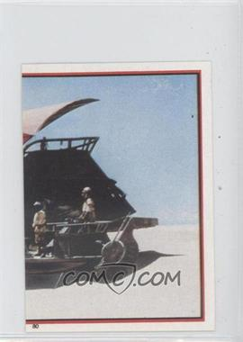1983 Topps Star Wars: Return of the Jedi Album Stickers #80 - Sand Barge