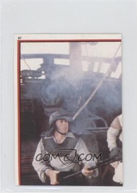 1983 Topps Star Wars: Return of the Jedi Album Stickers #87 - Luke Skywalker