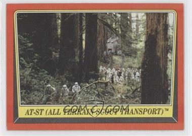 1983 Topps Star Wars: Return of the Jedi #106 - AT-ST (All Terrain Scout Transport)