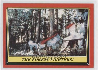 1983 Topps Star Wars: Return of the Jedi #107 - The Forest Fighters!